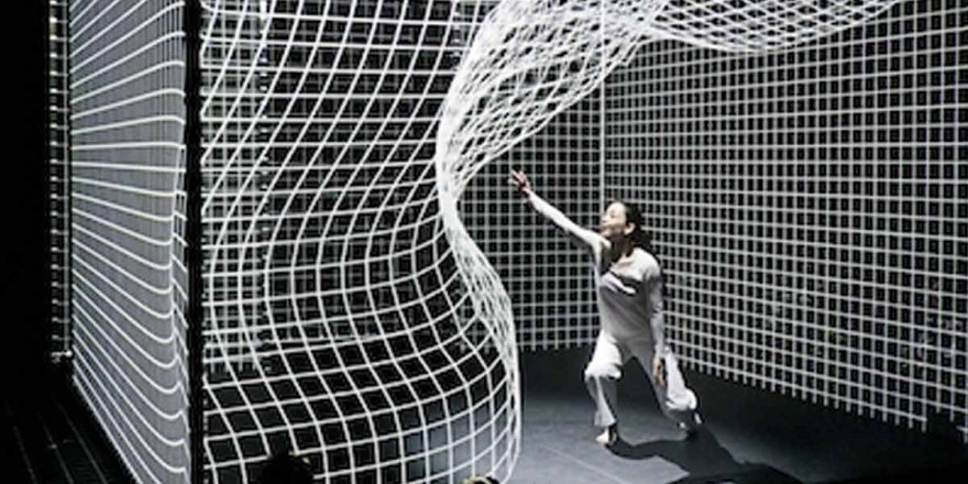 3D Projection mapping dance