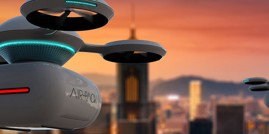 Airpack Drones