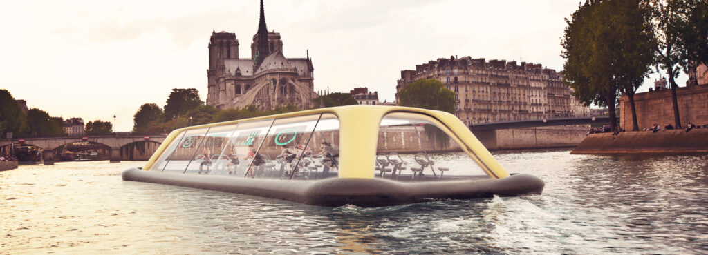 The human powered ferry