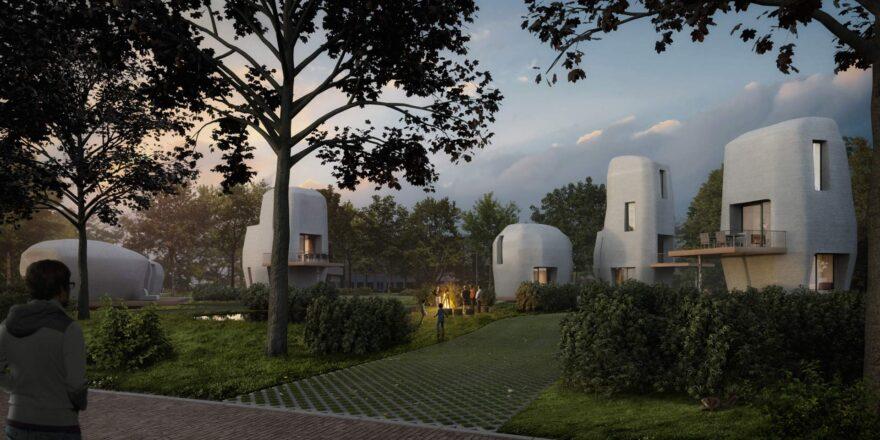 3D Printed Hemp Homes