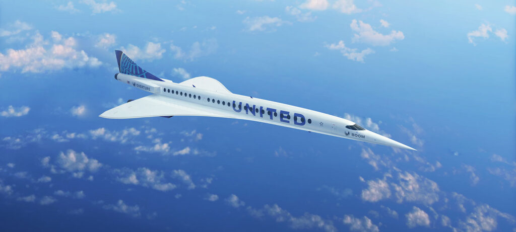 United Airlines Supersonic Jets